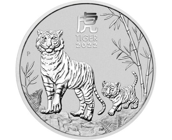 0,5 dollar, Tigris kölykével, , Ag 999, 15,5 g, Ausztrália, 2022