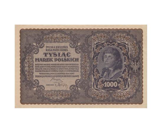 1000 márka, , 0, 0, Lengyelország, 1919
