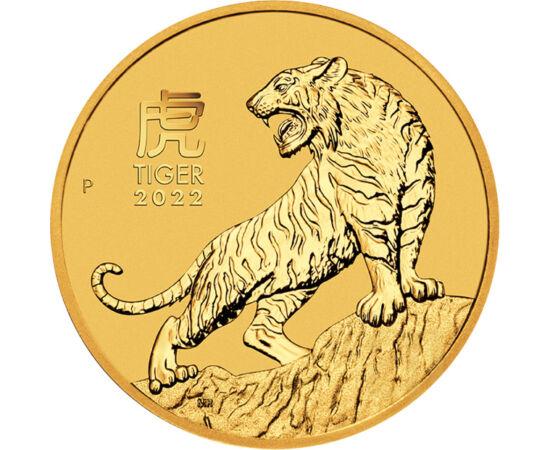 15 dollár, Tigris, , Au 9999, 3,11 g, Ausztrália, 2022