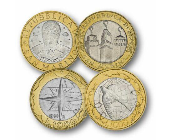 5x1000 líra, , 0, 0, San Marino, 1997-2001
