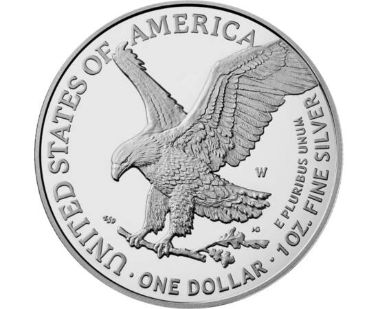USA/ 1 dollár, Sas, 1 unc. Ag,2021,new, USA