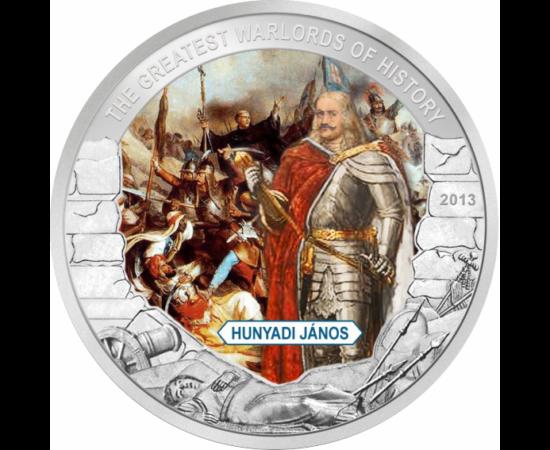 """// 1 dollár, Palau, 2013 // - A """"törökverő"""" Hunyadi János a középkori Európa egyik legnagyobb hadvezére volt. Legnagyobb diadala a Nándorfehérvári győzelem."""