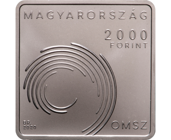 // Országos Meteorológiai Szolgálat, 2000 forint, CuNi, 2020