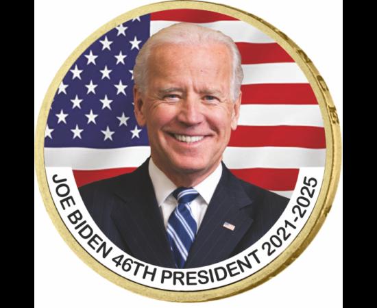 Joe Biden - az USA 46. elnöke, 1 dollár, USA