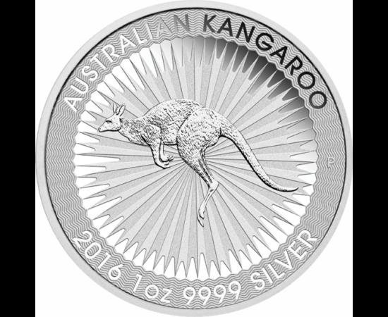 Öt unciás ajánlat, 5x1 uncia színezüst kenguru!