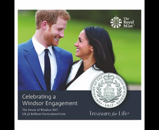 // 5 font, Harry és Meghan nem , CuNi, Nagy-Britannia, 2017 // Harry, Sussex hercege és felesége, Meghan hercegné úgy döntöttek januárban, hogy visszavonulnak a Windsor királyi ház hivatalos funkcióitól. Ennek indoka Meghan hercegné személye iránt felfoko