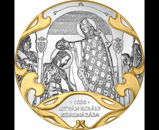 István király koronázása