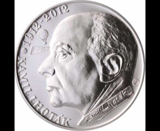 // 200 korona, Csehország, 2012 // -Kamil Lhoták, 200 korona, ezüst