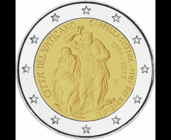 // 2 euró, Vatikán, 2019 // - Numizmatikai szakértőként mindig öröm a számomra, ha valóban ritka és értékes érméről számolhatok be! A vatikáni érmék mindig is keresettek, hiszen az apró városállam kimondottan alacsony számban jelenteti meg érméit.