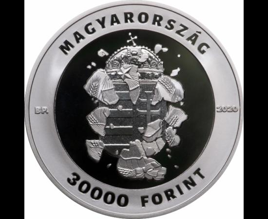 // 30000 ft, 30 éve szabadon, 3 unicás emlékpénz, 925-ös ezüst, Magyarország, 2020 // Május első hetében, egyedülálló új magyar emlékpénz került kibocsátásra.