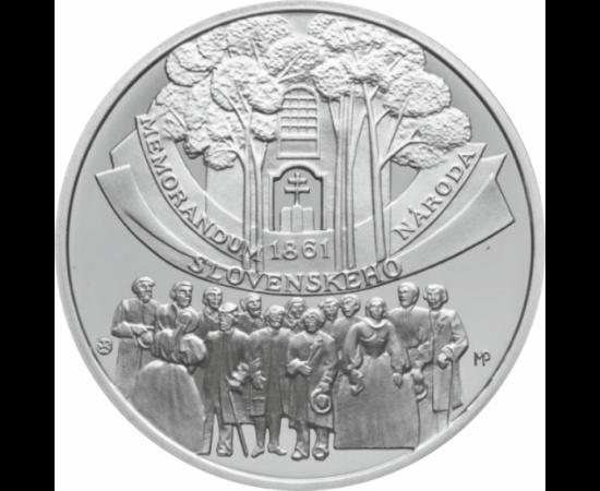 // 10 euró, Szlovákia, 2011 // - A szlovák forradalmi megmozdulás 1848-ban, a liptószentmiklósi gyűlés memorandumával kezdődött el, melynek alapja a szlovák önállóság elérése volt a célja. A memorandum a szlovákság hangulatát és felfogását képviselte, ám