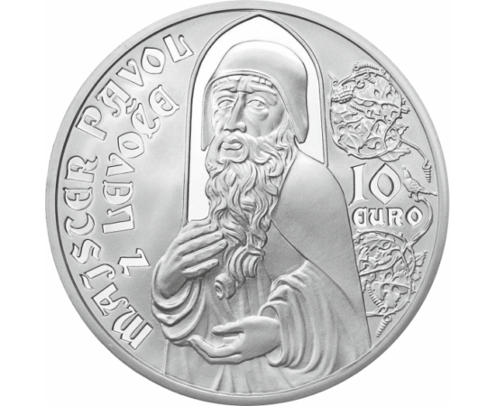 10 eur,Mistr Pavel z Levoče,ez,bu,12 Szlovákia