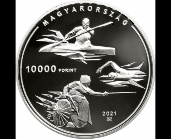 Nyári Olimpia, 10000 Ft, ezüst, Magyarország, 2021