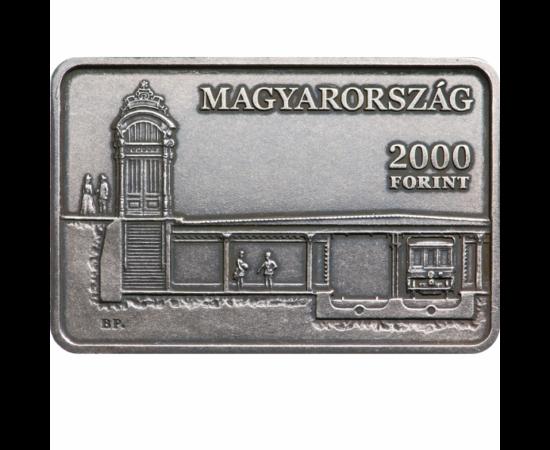 Milleniumi Földalatti Vasút 2000 Ft, Magyarország, 2021