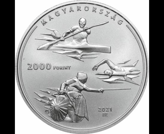 2000 forint, Nyári Olimpia, CuNi,2021 Magyarország