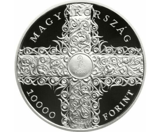 10000 forint, 52. Eucharisztikus Kongresszus, 925-ös ezüst, Magyarország, 2021