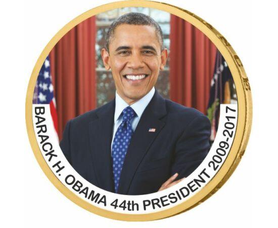 1 dollár, Barack Obama - az USA 44. elnöke, CuNi, USA