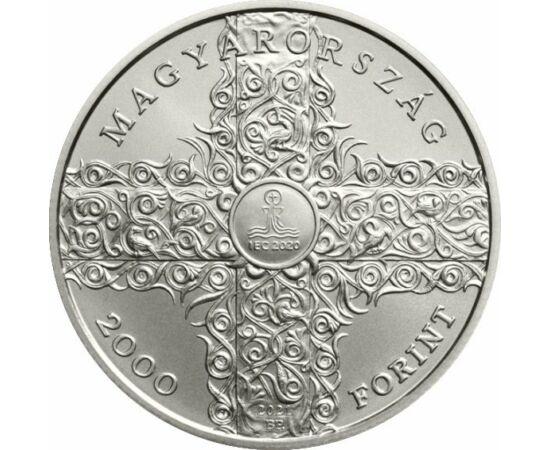 2000 forint, 52. Eucharisztikus Kongresszus, réz-nikkel, Magyarország, 2021