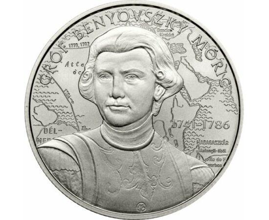 2000 forint, Benyovszky Móric, réz-nikkel, Magyarország, 2021