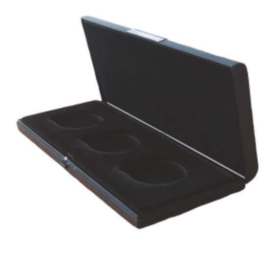 Többfészkes doboz(fekete, 3 fészkes)