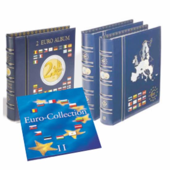 """VISTA euró gyűjtő album (12 """"első órás"""" euró államoknak)"""