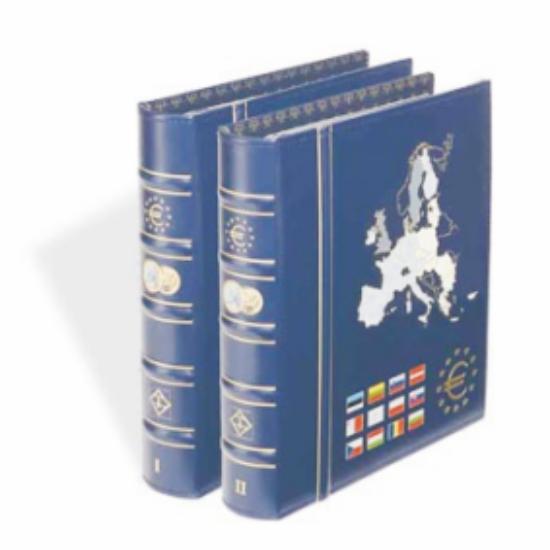 """PRESSO euró gyűjtő album(12 """"első órás"""" euró államoknak)"""