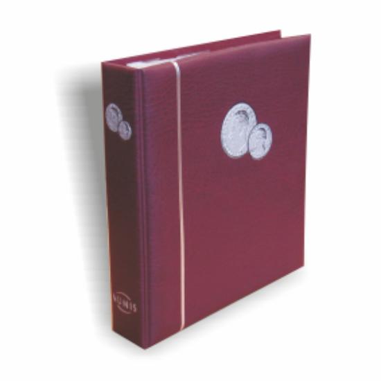 NUMIS érme album(vörös)