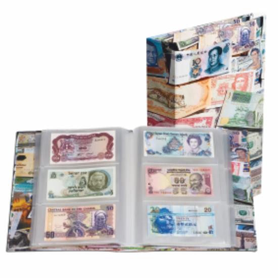 VARIO mintás album bankjegyeknek
