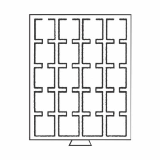 Érmetároló tálcák20 x Ø 50 mm QUADRUM kapszuláknak
