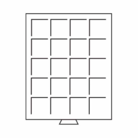 Érmetároló tálcák(20 x Ø 36 mm10 DM, 10 €, 1 $ CAN)
