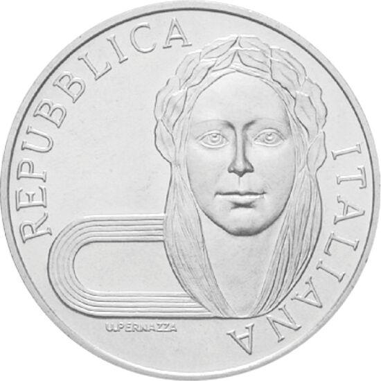 // 500 líra, 835-ös ezüst, Olaszország, 1992 // - 1992-ben Barcelonába érkezett az olimpiai láng. A XXV. nyári olimpiáról Magyarország 11 arany-, 12 ezüst- és 7 bronzérmet hozott haza, és az összesített éremtáblán a 8. helyen végzett. A játékok hivatalos
