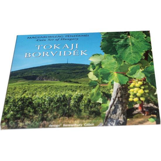 // 5, 10, 20, 50, 100, 200 forint, Magyarország, 2019 // - Tokaj egyedi bortermelési kultúrája évszázadok óta világhírű, az UNESCO listáján 2002 óta szerepel. A tokaji bor igazi hungarikum, az Európai Unió márkavédjegyként ismeri el. Az idei utolsó díszcs