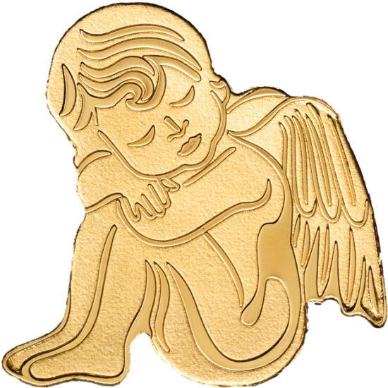 // 1 dollár, 999,9-es arany, Palau, 2019 // - A karácsony legszebb szimbóluma az angyal. Az ünnep fényéhez méltó, kedves pénzkülönlegességet jelentetett meg Palau. Az aranypénz jelképezheti a karácsonyi hírhozó angyalt, vagy egy őrangyalt. Kedves és érték