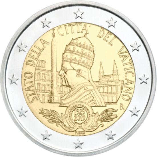 // 2 euró, Vatikán, 2019 // - Numizmatikai szakértőként mindig öröm a számomra, ha valóban ritka és értékes érméről számolhatok be! A vatikáni érmék mindig is keresettek, hiszen az apró városállam kimondottan alacsony számban jelenteti meg érméit. A gyűjt