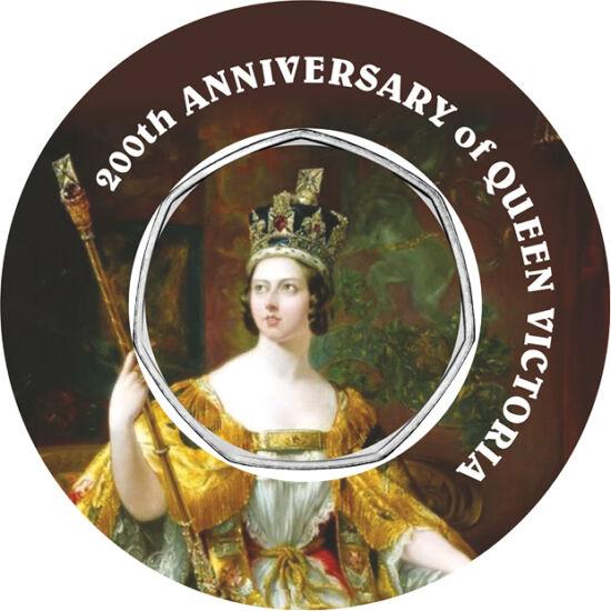 // 50 penny, Nagy-Britannia, 2012 // - Európa egyik legnagyobb múltú dinasztiája a brit Windsor-ház. Első, s legnagyobb hatású uralkodója Viktória királynő volt, kinek idén ünnepeljük születésének 200. évfordulóját. Ebből az alkalomból több újdonság is me