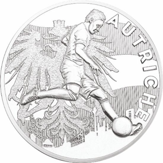 UEFA 2016 foci emlékérem - Ausztria