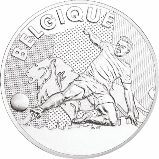 UEFA 2016 foci emlékérem - Belgium