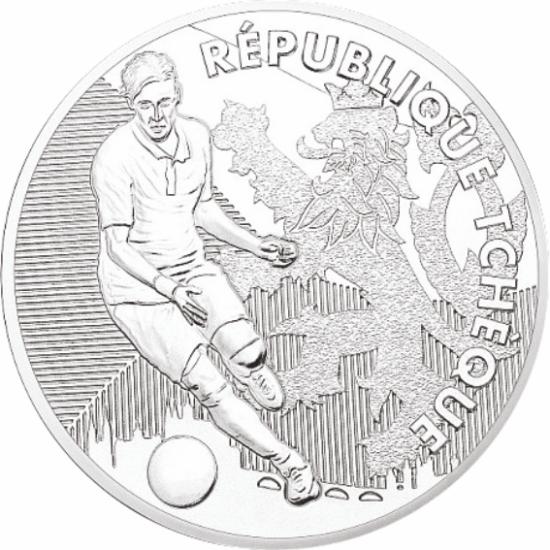 UEFA 2016 foci emlékérem - Csehország