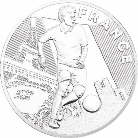 UEFA 2016 foci emlékérem - Franciaország