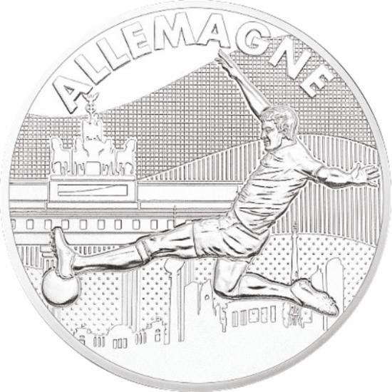 UEFA 2016 foci emlékérem - Németország