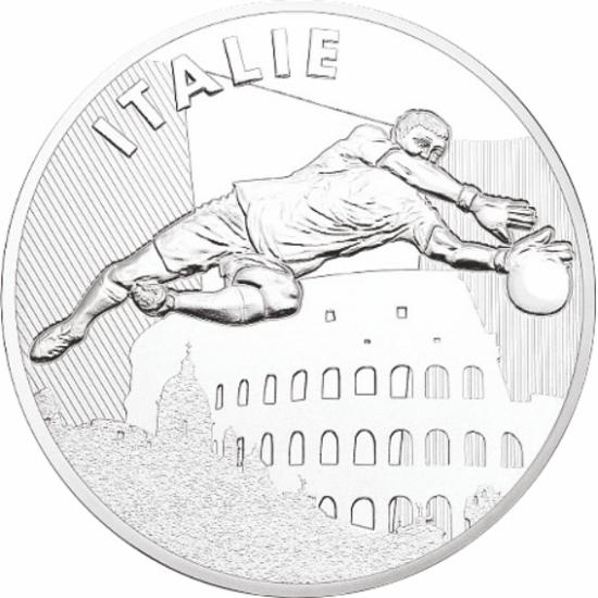UEFA 2016 foci emlékérem - Olaszország