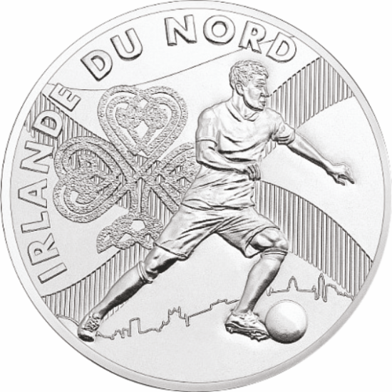 UEFA 2016 foci emlékérem - Észak - Írország