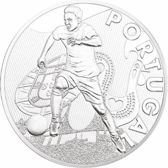 UEFA 2016 foci emlékérem - Portugália