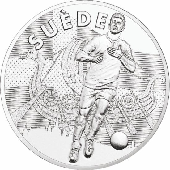UEFA 2016 foci emlékérem - Svédország