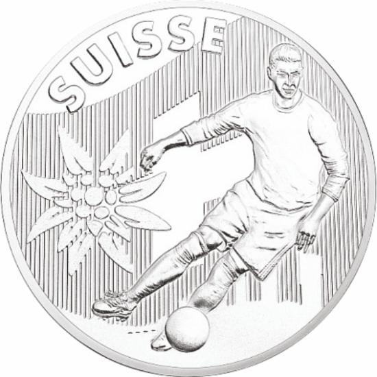 UEFA 2016 foci emlékérem - Svájc
